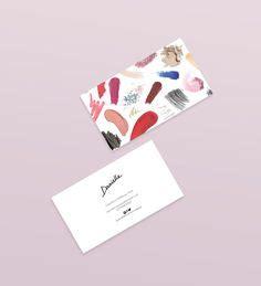 makeup artist business cards images business