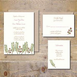 watercolor wedding invitations woodland wedding invitations With etsy woodland wedding invitations