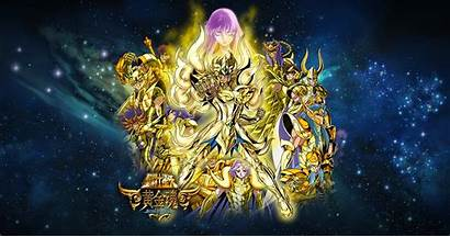 Saint Seiya Soul Gold Deviantart Wallpapers