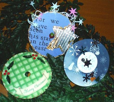 craft for christmas using old cds chipper crafts 7 recycled crafts for let s go chipper