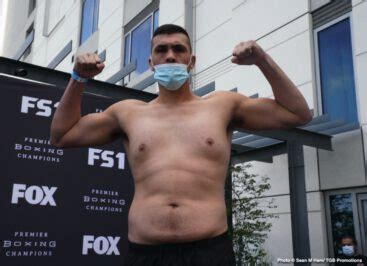 Ortiz vs Flores FOX PBC Fight Night Weigh In Results ...