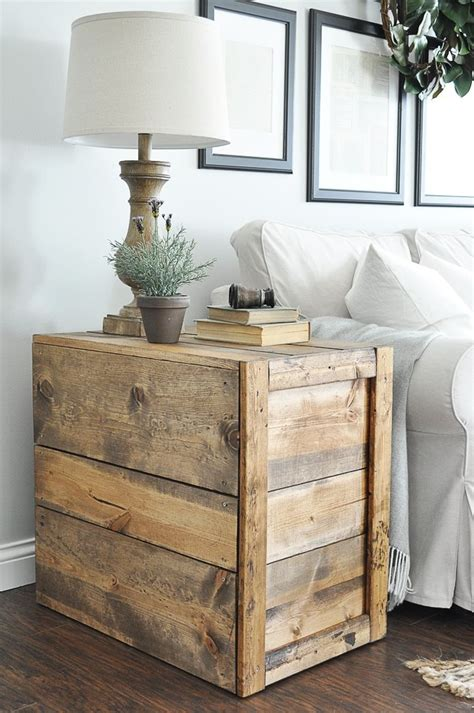 crate side table ideas  pinterest crate table