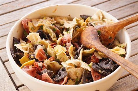 salade pates tomates sechees parmesan salade de p 226 tes 224 l italienne tomates s 233 ch 233 es courgette olives noires parmesan et sa