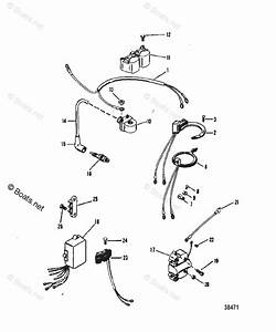 Mercury Mercury  U0026 Mariner Outboard Parts By Hp  U0026 Liter 25hp Oem Parts Diagram For Ignition