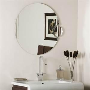 Petit Miroir Carré : mod les de miroirs ronds pour la salle de bain ~ Teatrodelosmanantiales.com Idées de Décoration