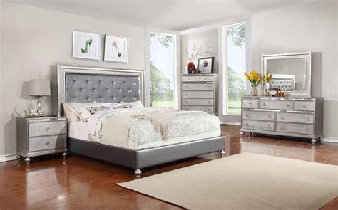 glam bedroom set glam 5pc bedroom set rotmans bedroom