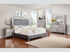 Glam 5PC Queen Bedroom Set Rotmans Bedroom Group