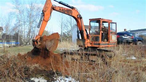 kubota kh excavator youtube