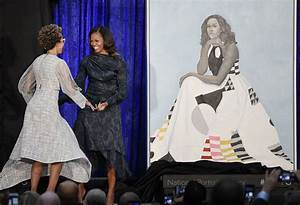 Barack and Michelle Obama's Smithsonian Portraits Unveiled ...