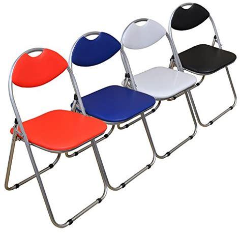 chaise de bureau pliable chaise de bureau blanc pliable et matelassée harbour