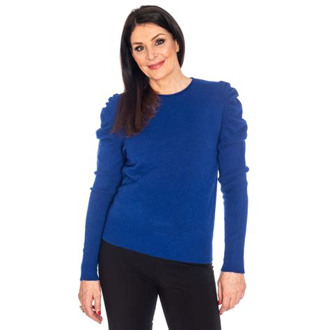 decollage royal blue sweater snooty frox