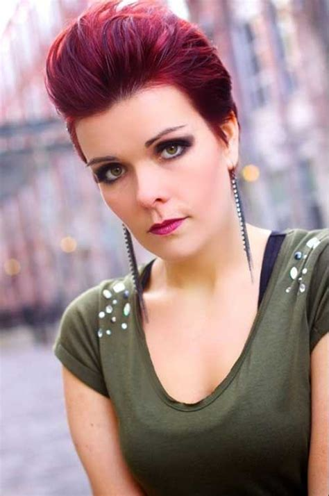 pixie red hair short hairstyles