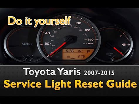 how to reset maintenance light on 2007 toyota camry toyota yaris maintenance light iron blog