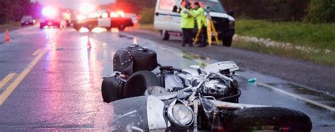 Motorcyclist Killed In Traffic Accident On The City's