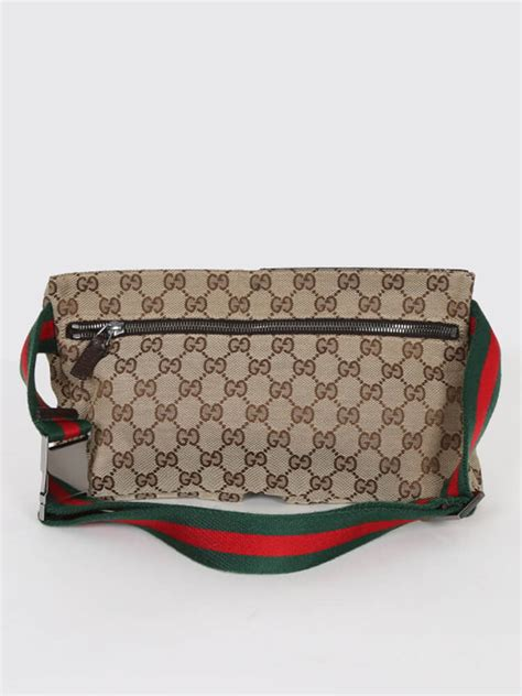 gucci gg canvas bum bag luxury bags