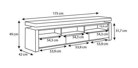 meuble tele pour chambre meuble tv dimension maison et mobilier d 39 intérieur