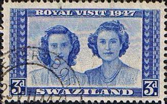 Postage Stamps Swaziland 1947 Royal Visit Fine Mint ...