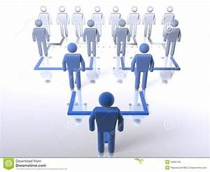 Business Hierarchy - Bottom To Top Stock Photo - Image ...