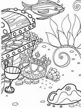 Coloring Sea Under Sheets Dover Unterwasserwelt Ausmalbilder Ocean Malvorlagen Mandala Publications Bottom Ausmalen Adventure Welcome Vorlagen Adult Unterwasser Adults Basteln sketch template