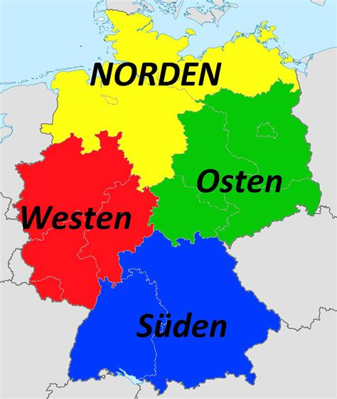 norden süden westen osten deutschlandkarte norden s 252 den osten westen europakarte mit hauptst 228 dten und l 228 ndern