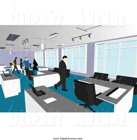 clipart bureau office interior clipart 8