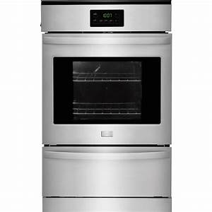 Frigidaire 24quot Built In Single Gas Wall Oven Silver