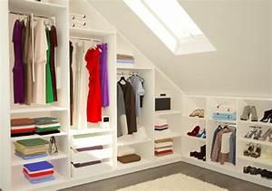 Schränke Für Begehbaren Kleiderschrank : schranksysteme f r die dachschr ge meine m belmanufaktur ~ Markanthonyermac.com Haus und Dekorationen