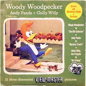 View-Masters - Woody Woodpecker, Andy Panda, Chilly Willy ...