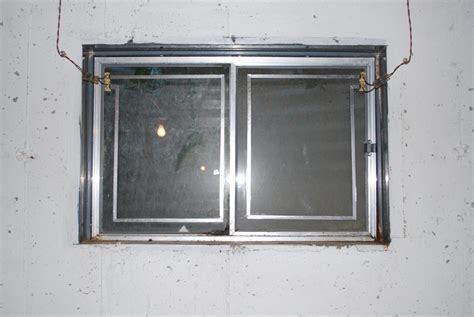Basement Window Before Chicago Window Well Covers