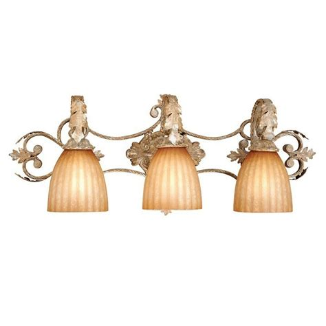 Gold Bathroom Light Fixtures by New 3 Light Bathroom Vanity Lighting Fixture Platinum