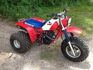 My 1985 Honda 200x All Original Except D U0026g  Pipe And K U0026n