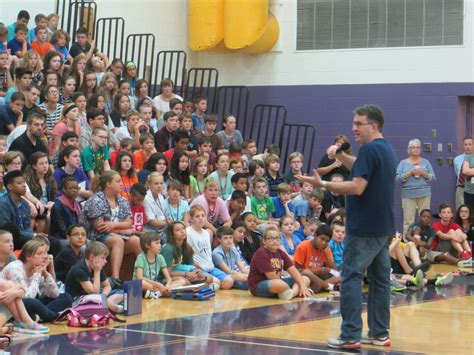 summer reading book author visits middle schools lakewood city school