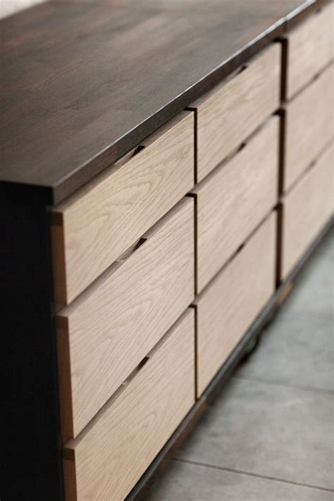 kitchen cabinets with drawers only mixed finishes photo only interior doors handles