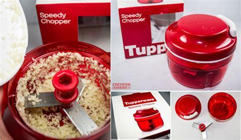 tupperware speedy chopper review
