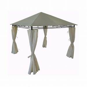 tonnelle avec rideau With rideaux exterieur leroy merlin 10 tonnelle camping decathlon