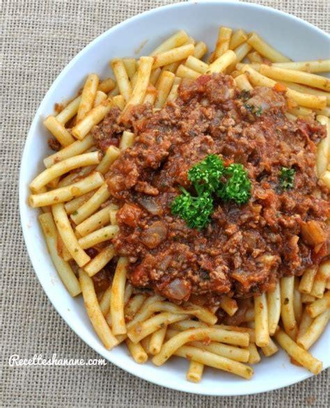 recette pate a la bolognaise maison sauce bolognaise maison recettes by hanane