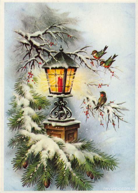 Christmas And New Year 3  Old Postcards Xx Century  Рождество и Новый год 3  Открытки ХХ века