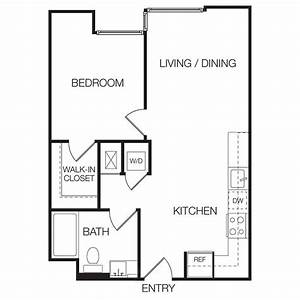 1 bedroom apartment layouts photos and video With small 1 bedroom apartment layout