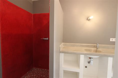 a l italienne salle de bain salle de bain avec 224 l italienne et vasque en tadelackt les vergers de la bouligaire