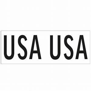Vinyl transfer sail national letters usa 40mm at hobby for Vinyl transfer letters