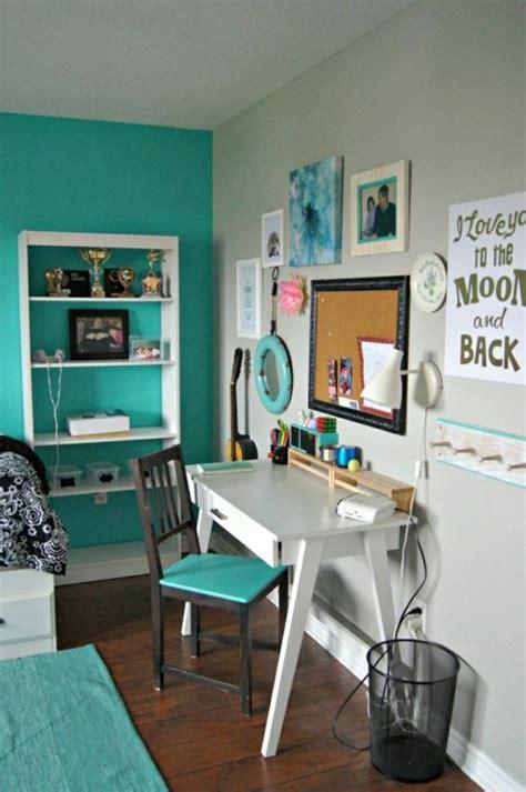 idee deco chambre ado fille turquoise chambre fille en