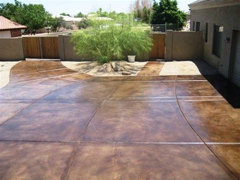 stained driveway ideas 26 best images about acid wash concrete on pinterest cas stains and tans