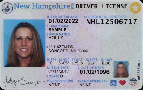 Car Wallpaper 2017 Code Of Federal Regulations by New Id Cards To Feature Outline Of New Hshire Purple