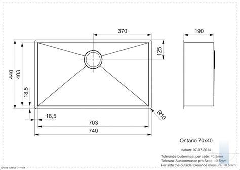 Ontario L 70/40 integrētā virtuves izlietne | Vannupasaule.lv
