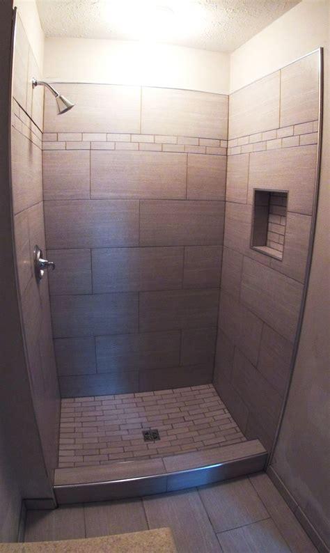 modern shower tile  link renovations linkrenovations