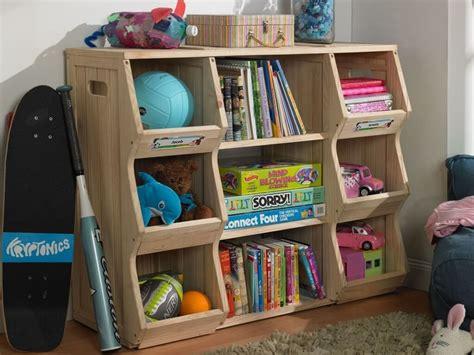 interior design robust oak wood kids rooms book storage