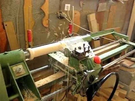 semi automatic wood latheavi youtube