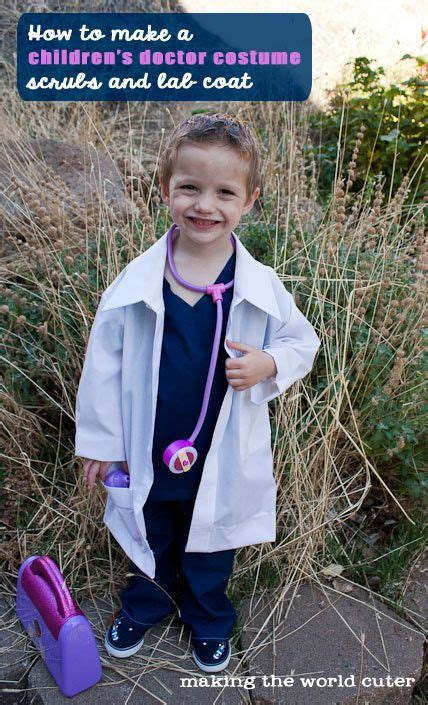 diy childrens doctor costume doctor costume doctor