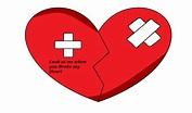 Broken Heart Symbol by BLONDIEROSE on DeviantArt