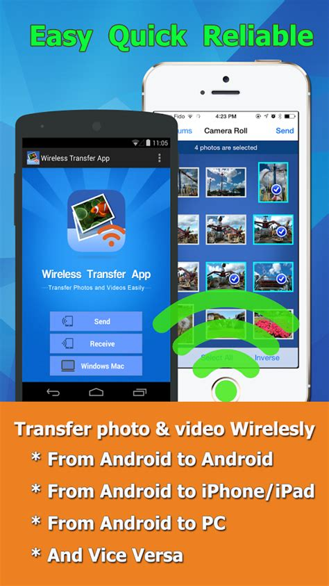 app to transfer from android to iphone wireless transfer app free android apps p 229 play